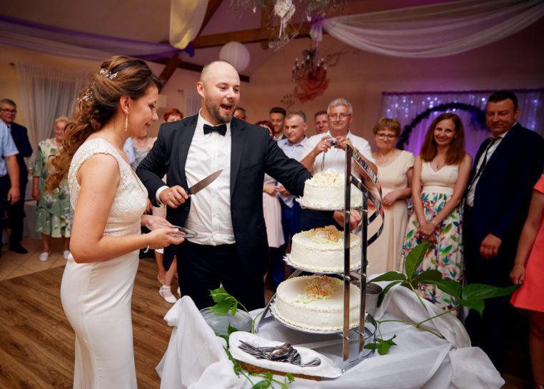 Tort weselny Asi i Łukasza - Mrągowo
