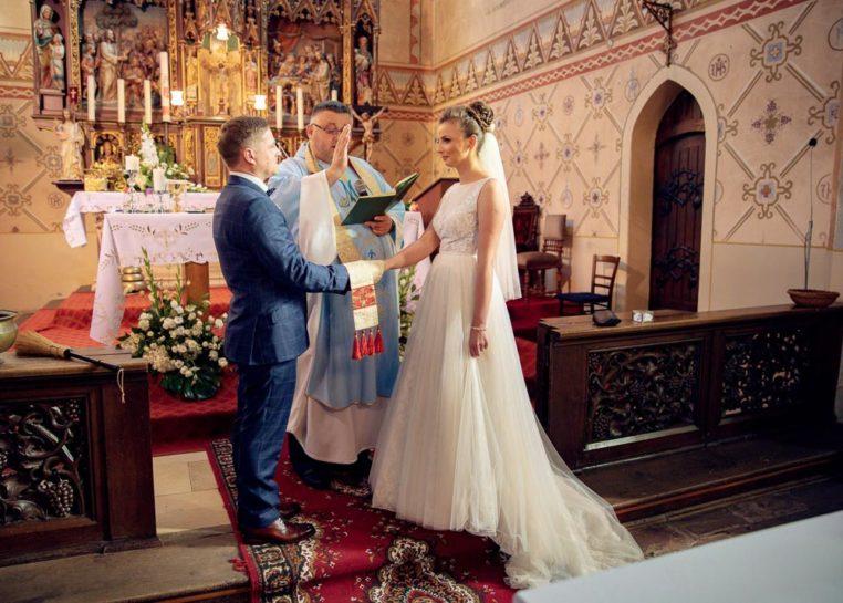 Przysięga ślubna - ślub w Biskupcu