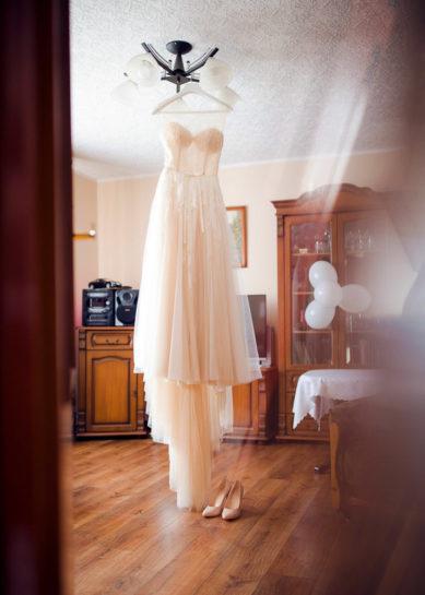 Suknia Panny Młodej - wesele Mrągowo