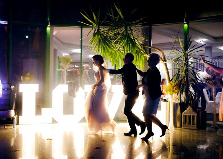 Przyjęcie weselne - Mercedes Club w Mrągowie