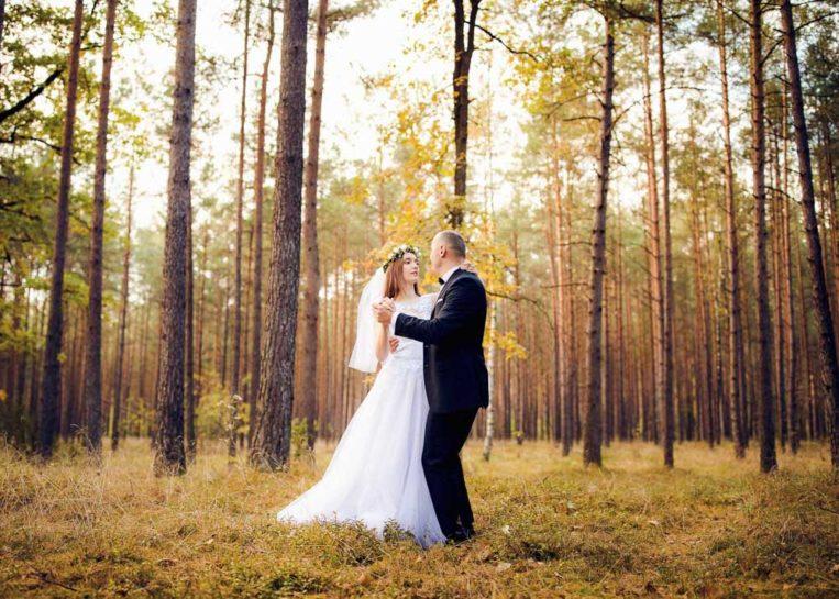 Sesja poślubna Magdy i Szymona w Gietrzwałdzie