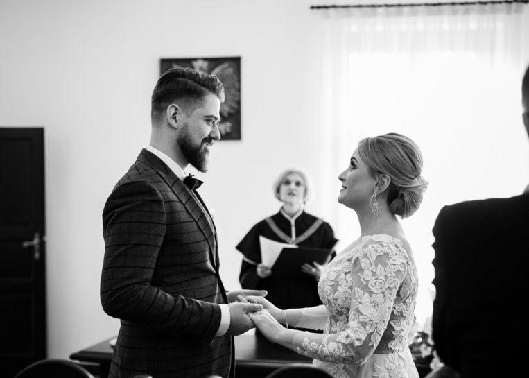 Przysięga ślubna - Ślub cywilny w Mrągowie