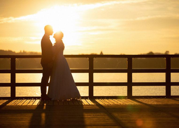 Jesienna sesja poślubna Natalii i Kuby w Mrągowie