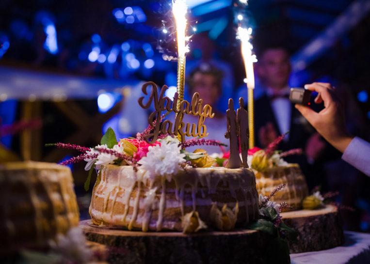 Tort weselny - Gościniec Molo w Mrągowie