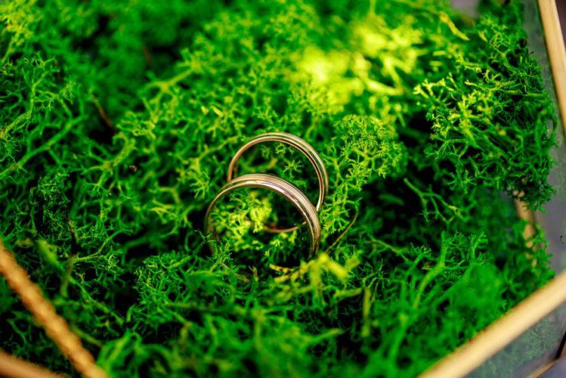 obrączki ślubne - wesele Mrągowo