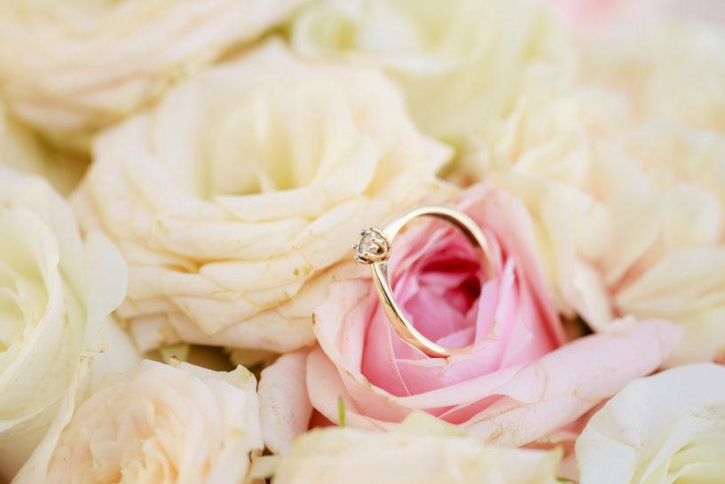 Pierścionek zaręczynowy - wesele Szczytno