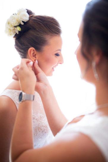 Przygotowania Panny Młodej - wesele w Biskupcu