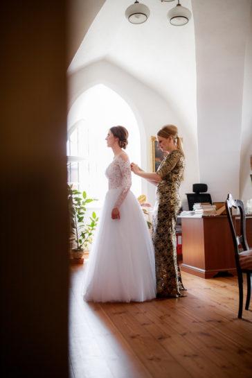 Przygotowania Panny Młodej - Zamek Biskupów Warmińskich