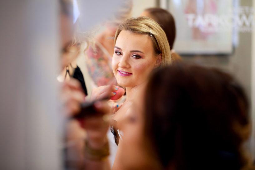 Przygotowania Panny Młodej - Makeupownia Olsztyn