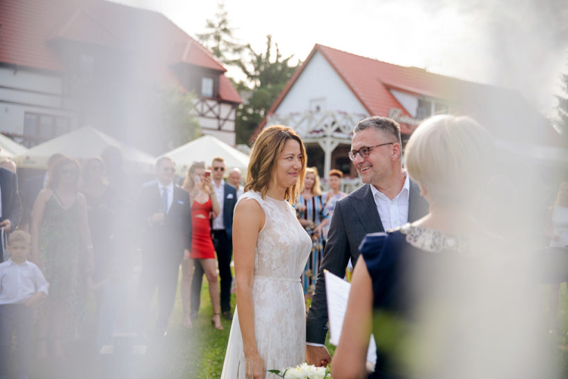Ślub plenerowy w Starych Sadach