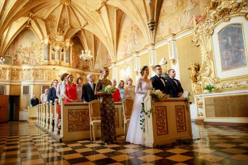 Ślub w Zamku Biskupów Warmińskich