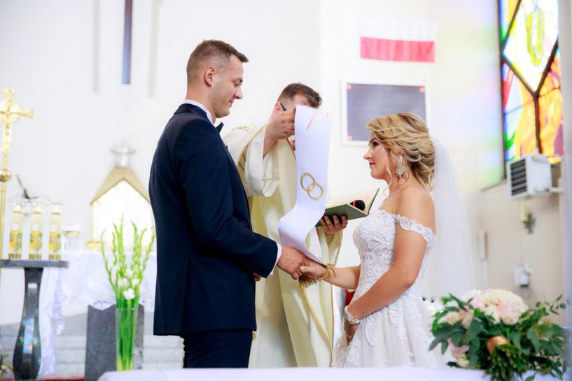 Przysięga ślubna - ślub w Mrągowie