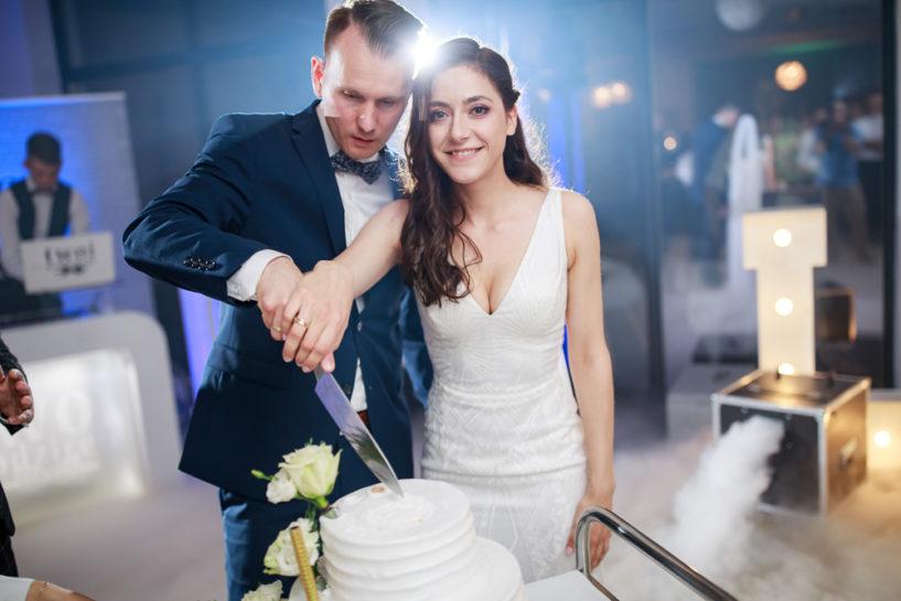 Tort weselny - Ogrody weselne Natural w Warlitach Wielkich